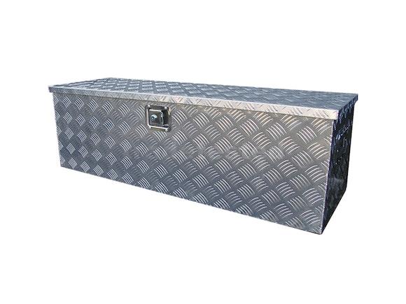 Aluminium Checker Plate Toolbox 1230mm