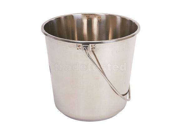 McGregor's Bucket 12 Litre Stainless Steel