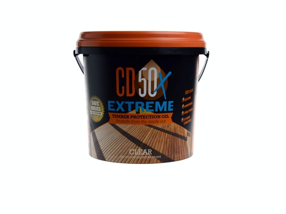 CD50X Extreme Timber Protection Oil Clear - 4L