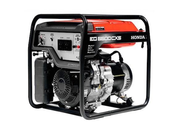 Honda EG5500CXS Generator 5500W with Electric Start