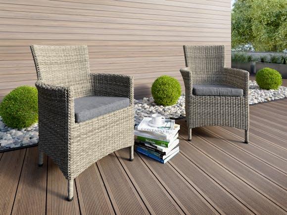 Elba Rattan Outdoor Dining Chairs