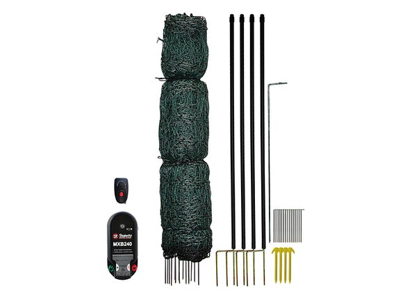 Strainrite Poultry Fence Kit 50m with Energiser
