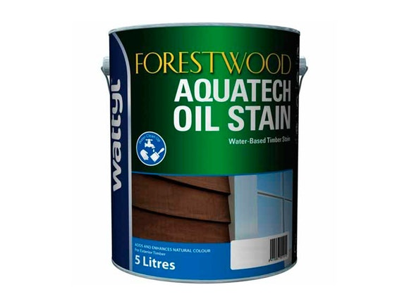 ForestWood Aquatech Oil Stain 5L - Rustic Oak