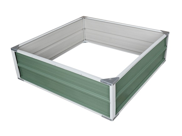 Raised Garden Bed 120cm x 120cm x 41cm Green