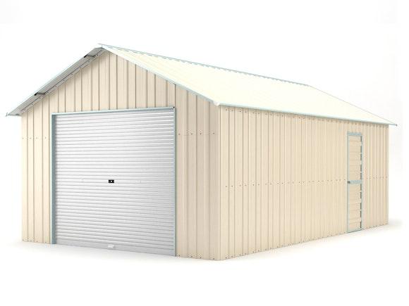 Single Garage 4.4m x 7.2m Cream