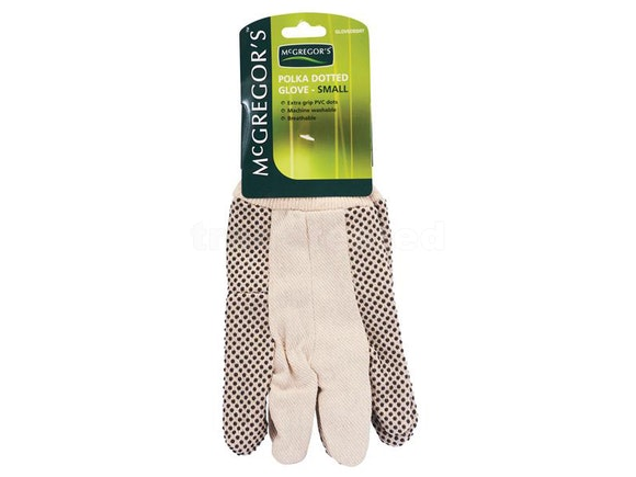 McGregors Small Polka-dot Cotton Gloves (Pair)