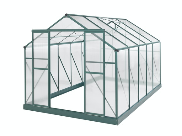 Evergreen Greenhouse 12 x 8ft Green