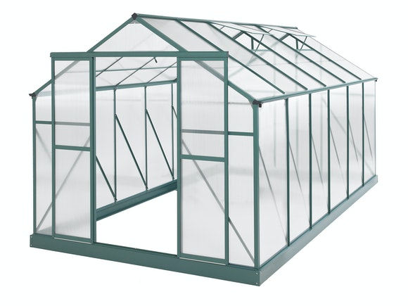 Evergreen Greenhouse 14 x 8ft Green