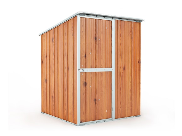 Garden Shed 1.55m x 1.55m x 2.02m Wood Finish