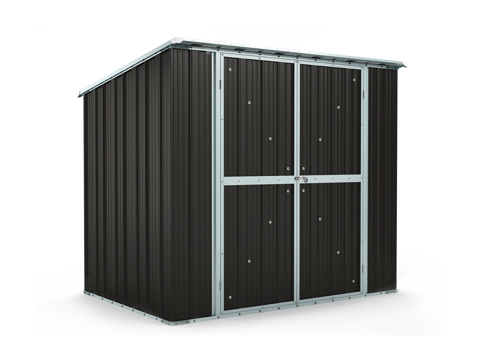 Garden Shed 2.31m x 1.55m x 2.02m Ironsand