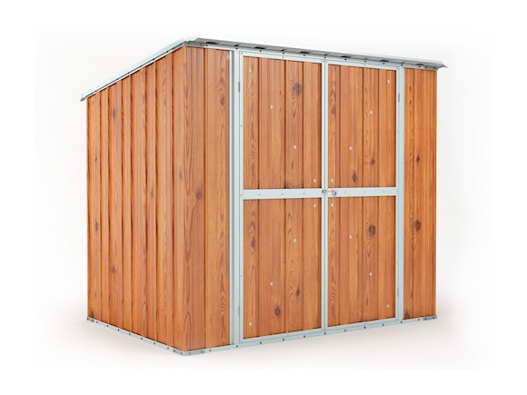 Garden Shed 2.31m x 1.55m x 2.02m Wood Finish