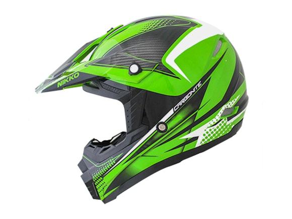 Kid's Motocross Cyber Helmet Green 51-52cm