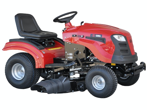 Sanli Ride-On Mower 17.5HP Briggs & Stratton