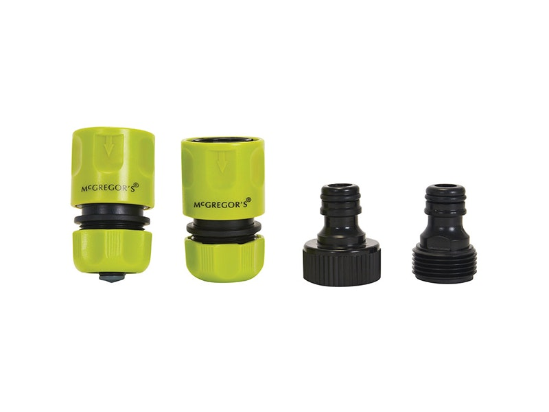 McGregor's 4pc Hose Connector Set