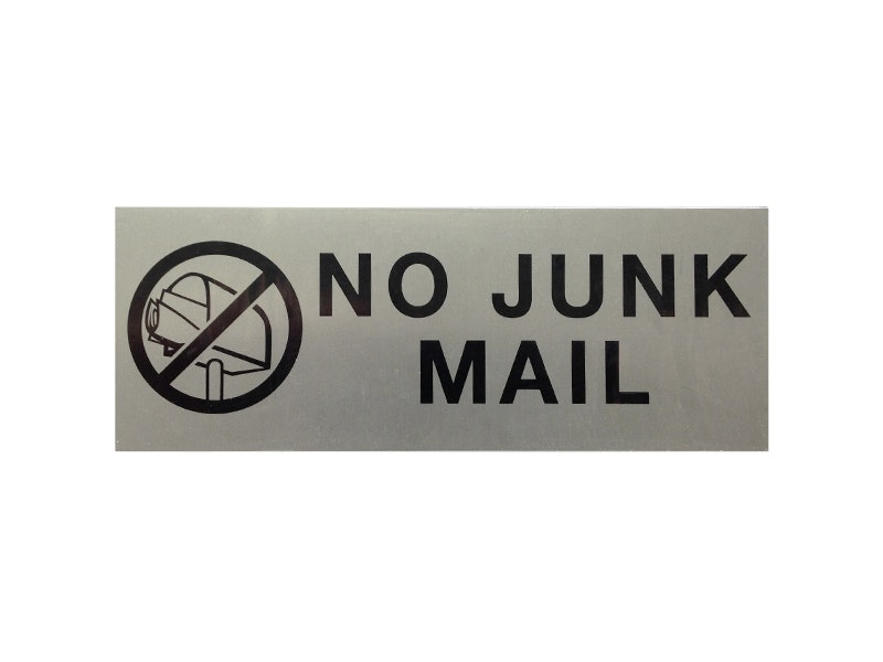 Letterbox Sign 175mm