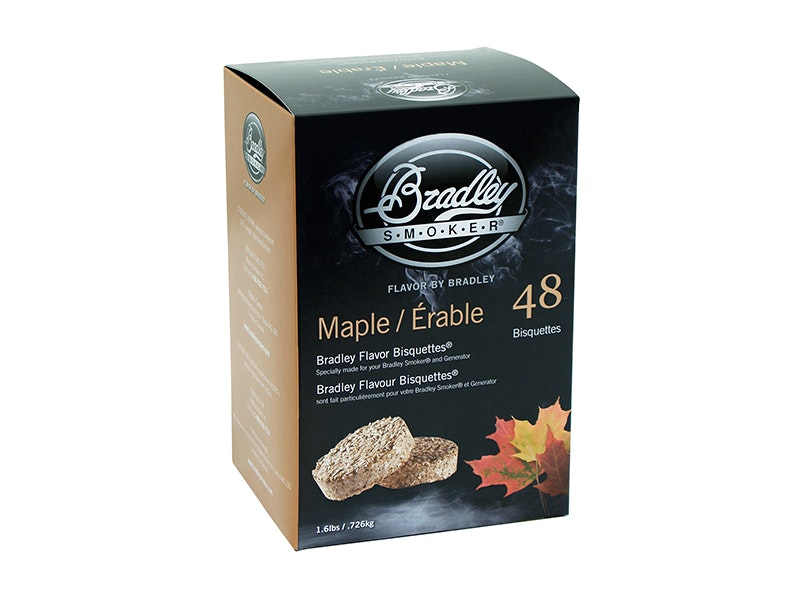 Maple Bisquette 48 Pack