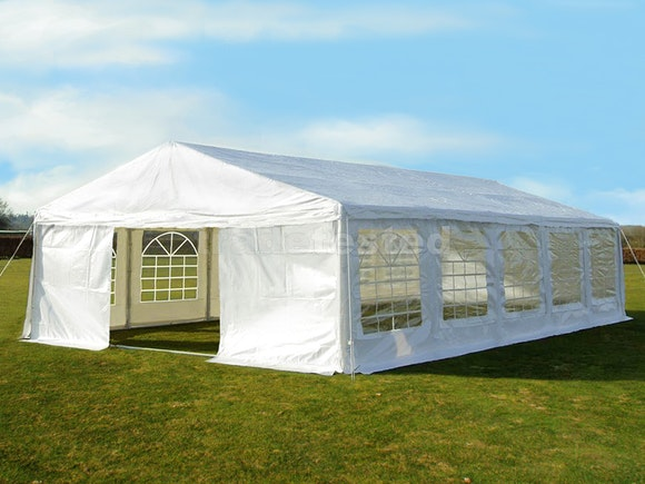 Great White Marquee 5m x 10m Heavy Duty PVC