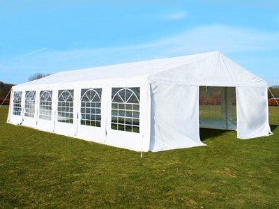 Great White Marquee 6m x 12m Heavy Duty PVC