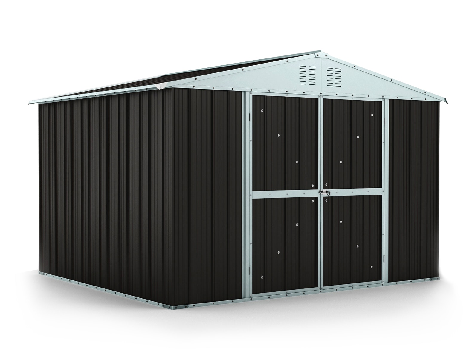 Garden Shed 3.07m x 2.69m x 2.17m Ironsand