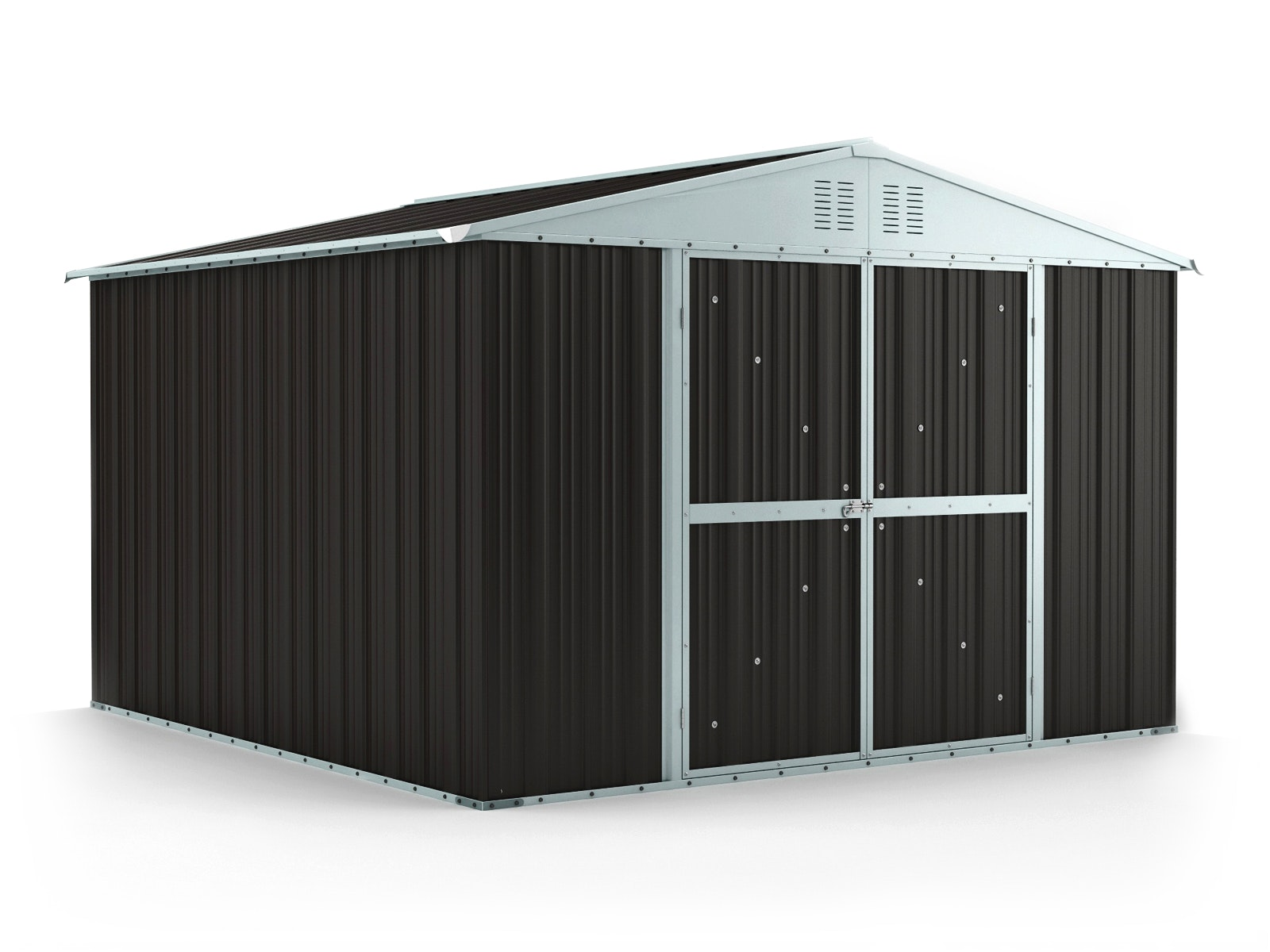Garden Shed 3.07m x 3.07m x 2.17m Ironsand