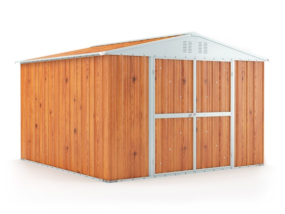 Garden Shed 3.07m x 3.07m x 2.17m Wood Finish