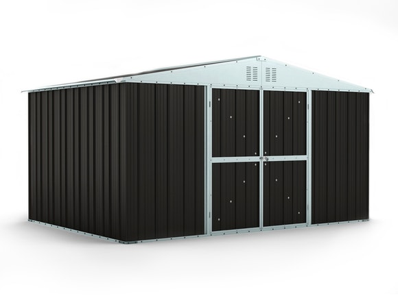 Garden Shed 3.83m x 2.69m x 2.17m Ironsand