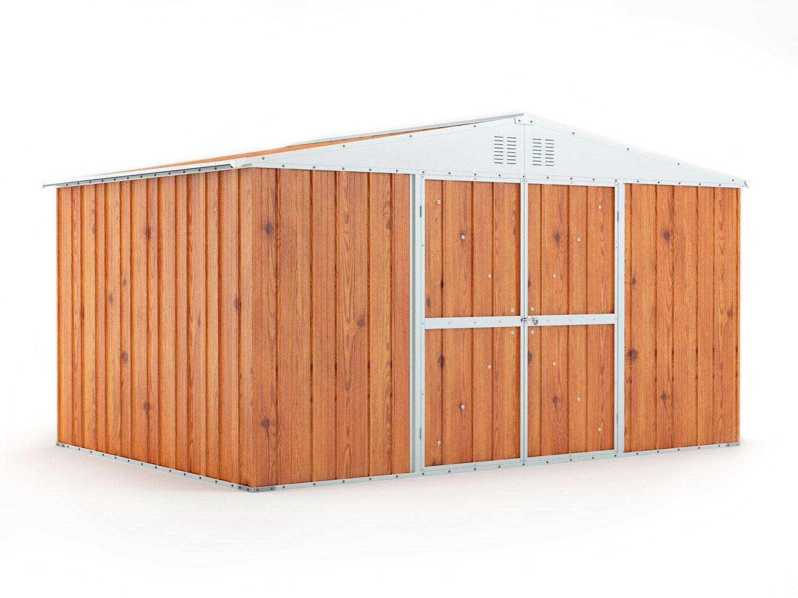 Garden Shed 3.83m x 2.69m x 2.17m Wood Finish