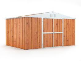 Garden Shed 3.83m x 2.69m x 2.17m Wood Finish