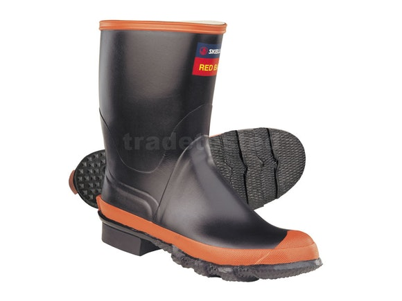 Red Band Gumboots - Size 6