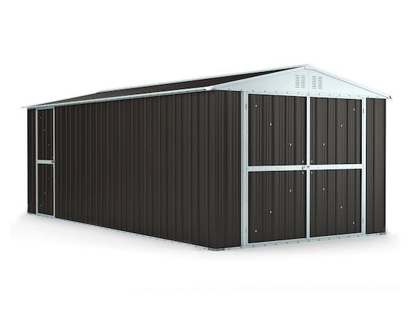 Workshop Garage 3.27m x 6.11m x 2.37m Ironsand