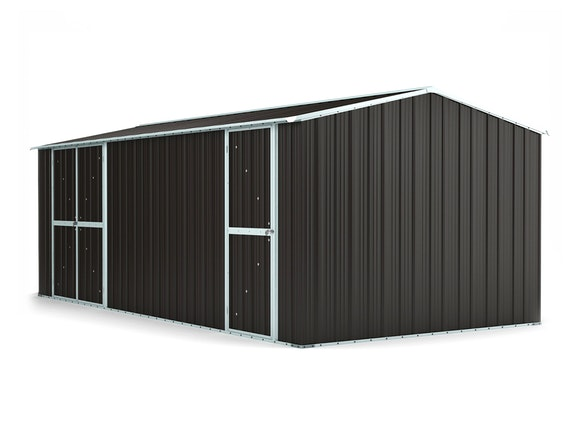 Workshop Shed 6.11m x 3.07m x 2.27m Ironsand