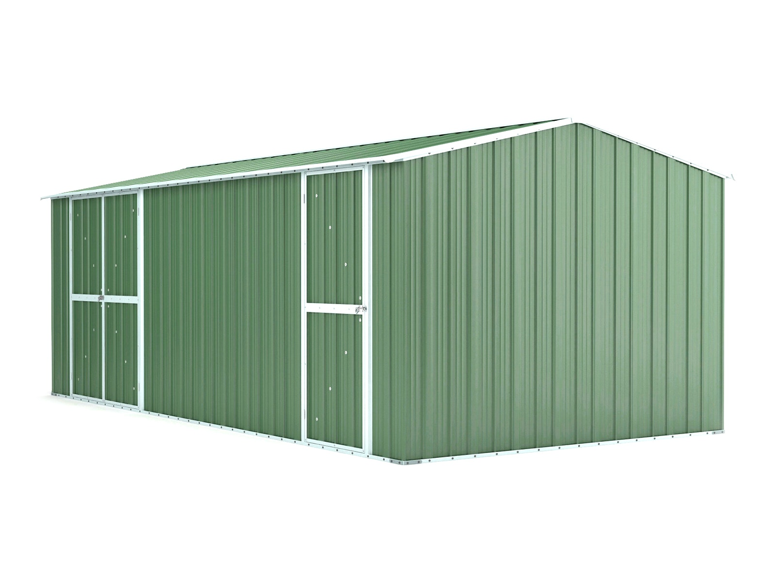 Workshop Shed 6.11m x 3.07m x 2.27m Rivergum