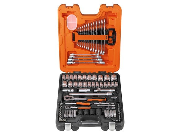 "Bahco 94 Piece 1/4"" & 1/2"" Drive Socket & Spanner Set"