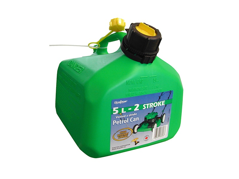 Scepter Petrol 2 Stroke Can Jerry Can 5L