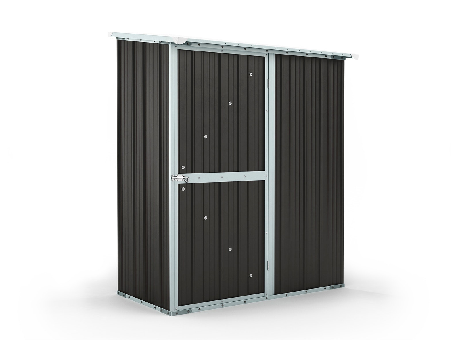 Garden Shed 1.55m x 0.79m x 1.92m Ironsand