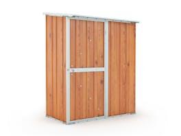 Garden Shed 1.55m x 0.79m x 1.92m Wood Finish