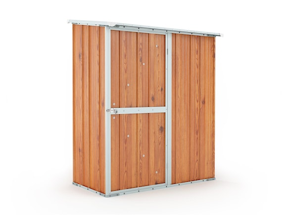 Garden Shed 1.55m x 0.79m x 1.92m Wood Finish