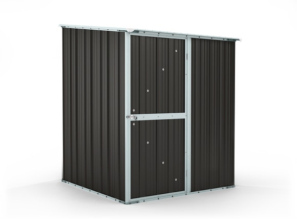 Garden Shed 1.55m x 1.55m x 2.02m Ironsand