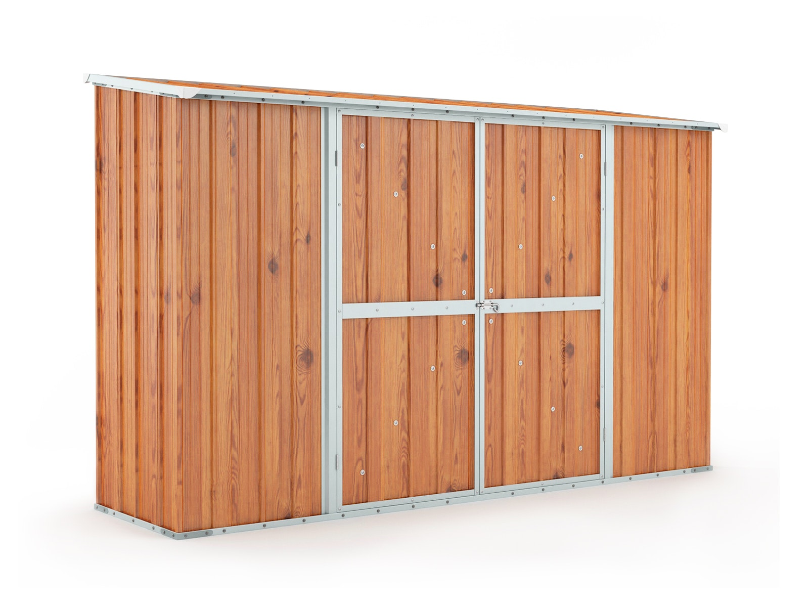 Garden Shed 3.07m x 0.79m x 1.92m Wood Finish