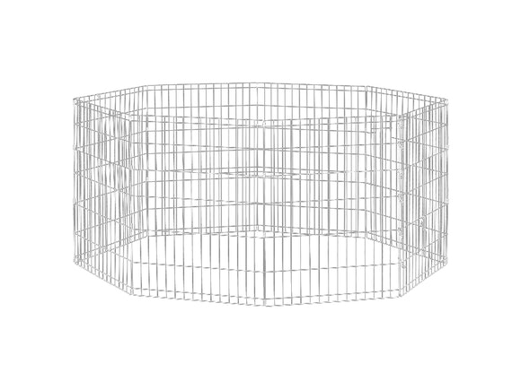 Dog Exercise Pen & Fence 91cm 8 Panel Large