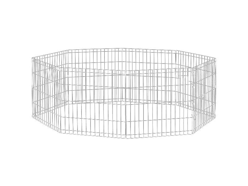 Dog Exercise Pen & Fence 76cm 8 Panel Medium