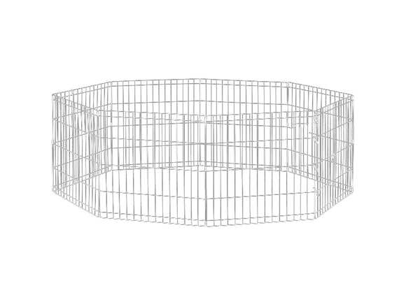 Dog Exercise Pen & Fence 76cm 8 Panel Medium