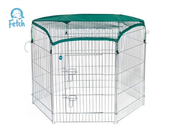 Fetch Dog Exercise Pen & Fence 122cm X-Large