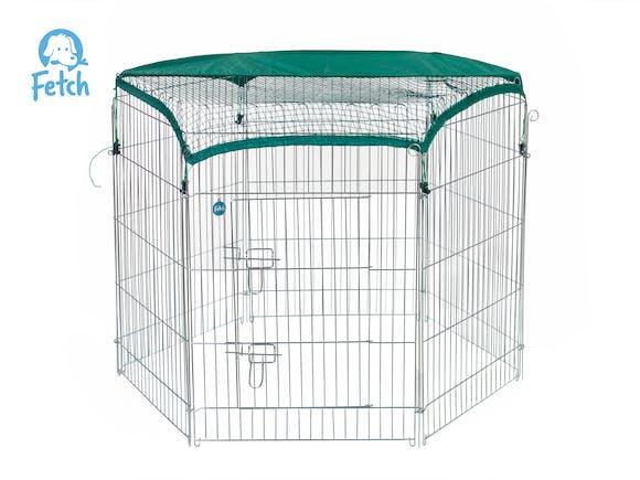 Fetch Dog Exercise Pen & Fence 122cm X-Large