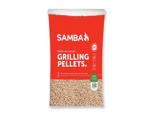Samba 5kg BBQ Grilling Pellets - Apple Flavour
