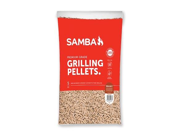 Samba 5kg BBQ Grilling Pellets - Walnut Flavour