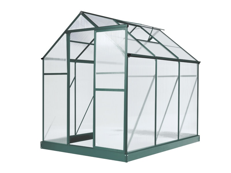Evergreen Greenhouse 6 x 8ft Green