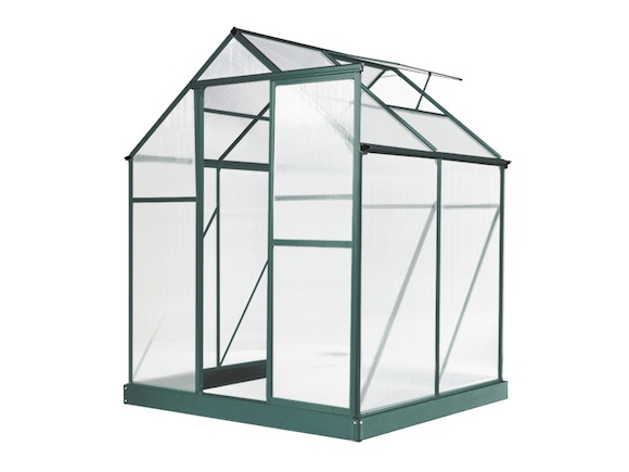 Evergreen Greenhouse 6 x 4ft Green