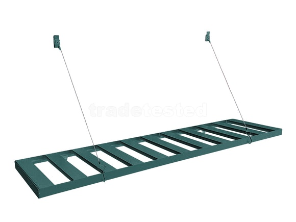 Evergreen Greenhouse Hanging Staging 80cm Green