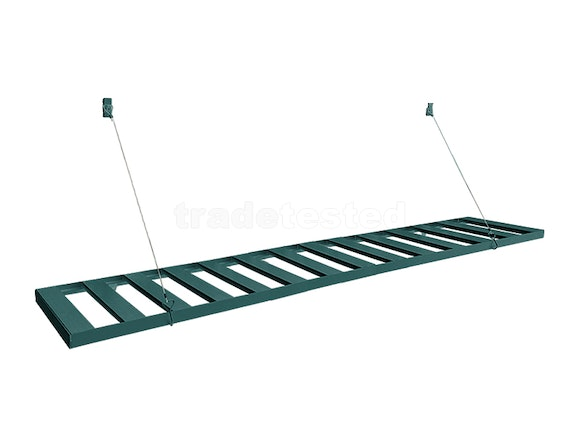 Evergreen Greenhouse Hanging Staging 120cm Green